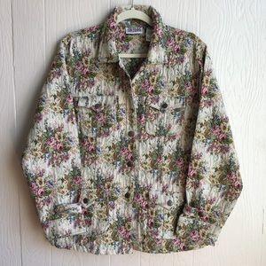Bill Blass Jeans Tapestry Jacket